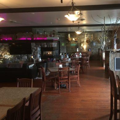 Dining at Bucksnort's Ocean Marina Hotel